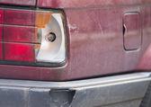 Car crash, Broken the rear lights. — Stockfoto