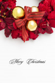 Merry Christmas postcard — Stock Photo