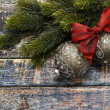 Christmas balls with branches decoration set — Stock Photo #58846477