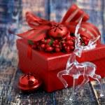 Christmas luxurious gift box — Stock Photo #59231099