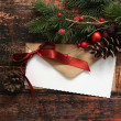 Christmas decorations background — Stock Photo #59349779