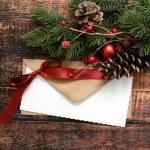 Vintage Christmas decorations — Stock Photo #59349911