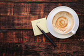 Coffee break background  — Stock Photo