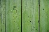 木质的表面有划痕, — 图库照片