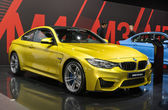 BMW 4 series Coupe M edition — Stock Photo