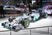 Mercedes AMG Petronas F1 — Stok fotoğraf