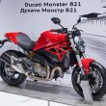 Постер, плакат: Ducati Monster 821
