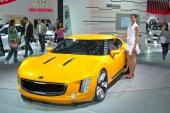 Kia GT4 Stinger Concept — Stock Photo
