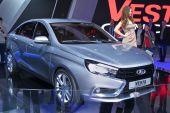 Lada Vesta Concept — Stock Photo