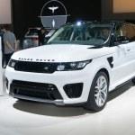 ������, ������: Land Rover Range Rover SVR