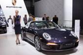 Porsche 911 Targa 4S — Fotografia Stock