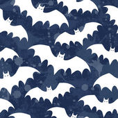 Seamless background with bats. — Stock Vector