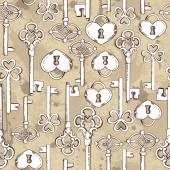 De fundo ilustração chaves — Vetor de Stock
