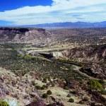 White Rock Park Scenic Overlook - New Mexico — Stock Photo #59224211