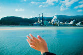 Bye Pulp mill — Stock Photo