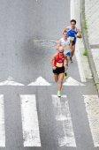Sport in strada — Foto Stock
