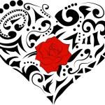 Loving heart icon — Stock Vector #58856445
