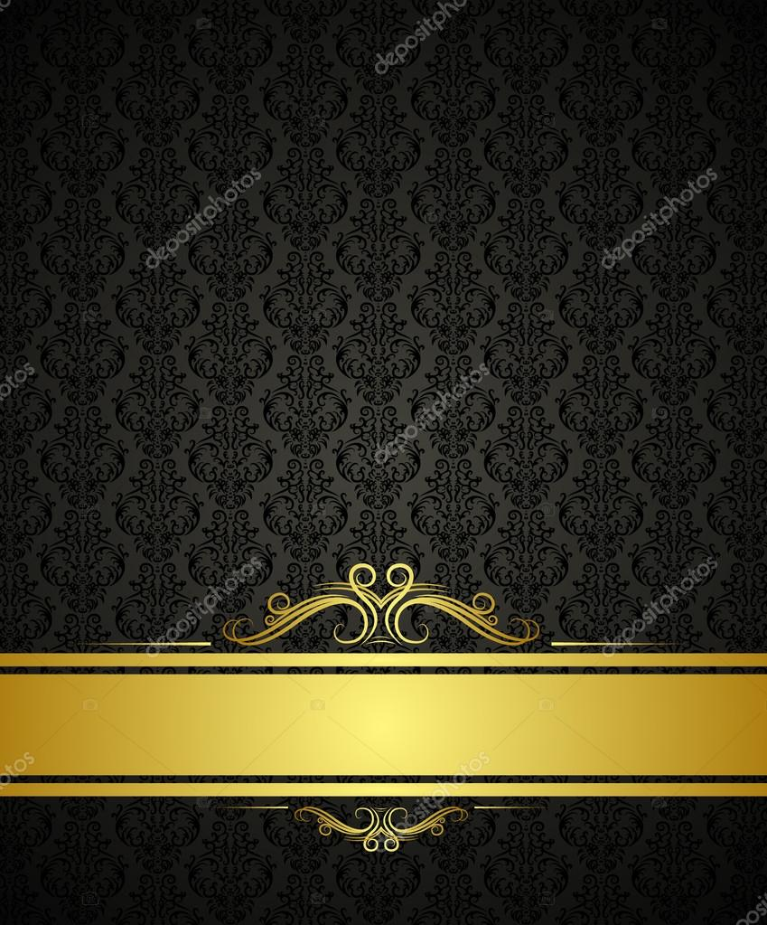 Flyer backgrounds gold