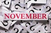 Kasım — Stok fotoğraf