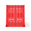 Red Cargo Container — Stock Photo #61984465