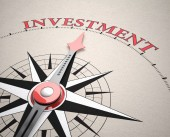 Direction of Investment — Stock Photo