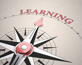 Direction of Learning — Stock Photo