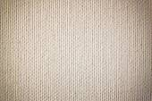 Background from white coarse canvas texture. High res — Stock Photo
