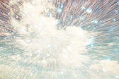 Abstract image of light burst and cloudscape in the sky. faith or spirituality concept — Stock Photo