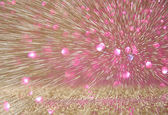 Abstract backgroung of light burst made from Bokeh light motion — Stock Photo