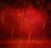 Glitter vintage lights background. gold, red and purple. defocused — Stock Photo
