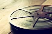Stary bębnowa film 8 mm — Zdjęcie stockowe