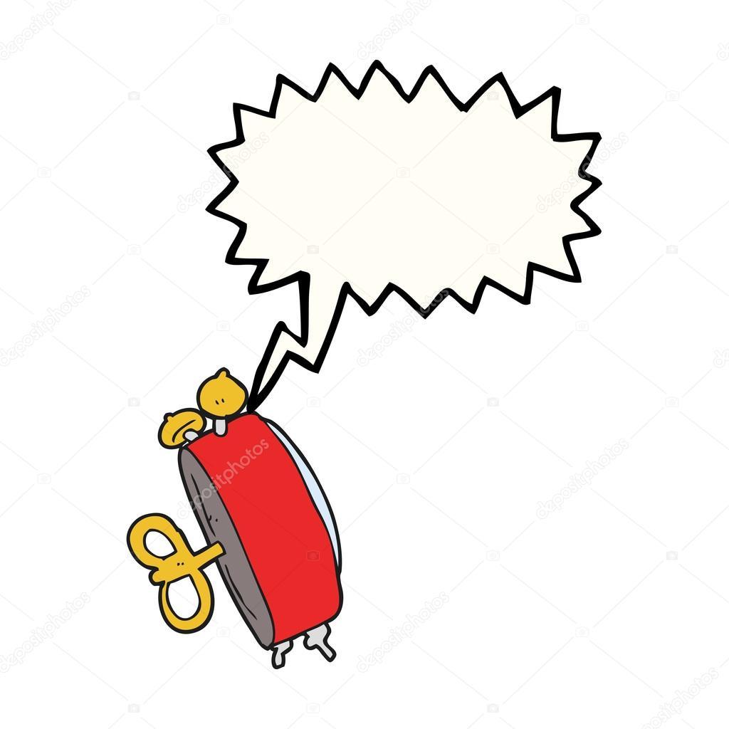 Dessin anim bulle discours radio r veil image - Dessin reveil ...