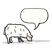 Desenho ovelha — Vetorial Stock