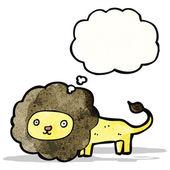 漫画のライオン — ストックベクタ