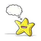 幸せの星漫画 — ストックベクタ