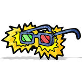 Cartoon x-ray specs — Wektor stockowy