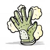 Cartoon protective glove — Stock Vector
