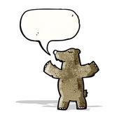 Ours de dessin animé — Vecteur