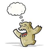 漫画のクマ — ストックベクタ