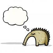 Cartoon aardvark — ストックベクタ