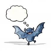 Morcego banda desenhada — Vetorial Stock