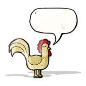 Cartoon cockerel — Vettoriale Stock