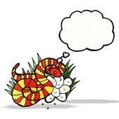 Serpent de dessin animé — Vecteur