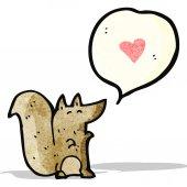 écureuil de dessin animé — Vecteur