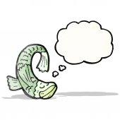 Cartoon fish — Cтоковый вектор