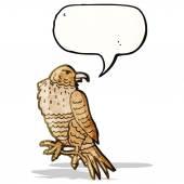 Cartoon bird of prey — Vetorial Stock