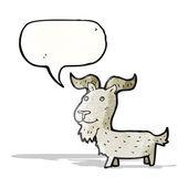 мультфильм коза — Cтоковый вектор