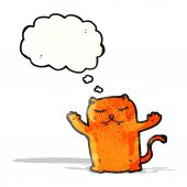 Cartoon cat — Stock Vector