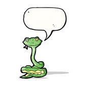 漫画のヘビ — ストックベクタ