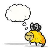 мультфильм пчела — Cтоковый вектор